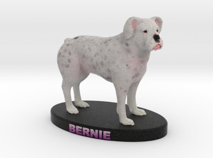 Custom Dog Figurine - Bernie 3d printed