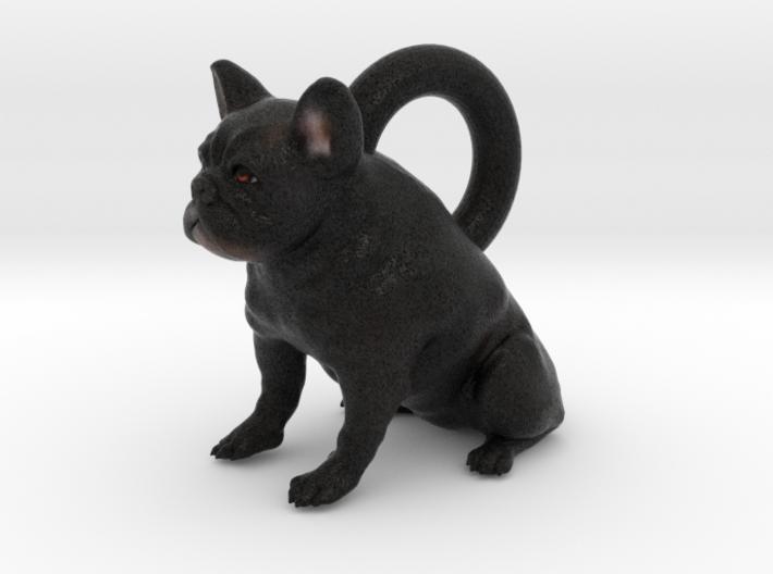 Custom Dog Earrings - Cosette 3d printed
