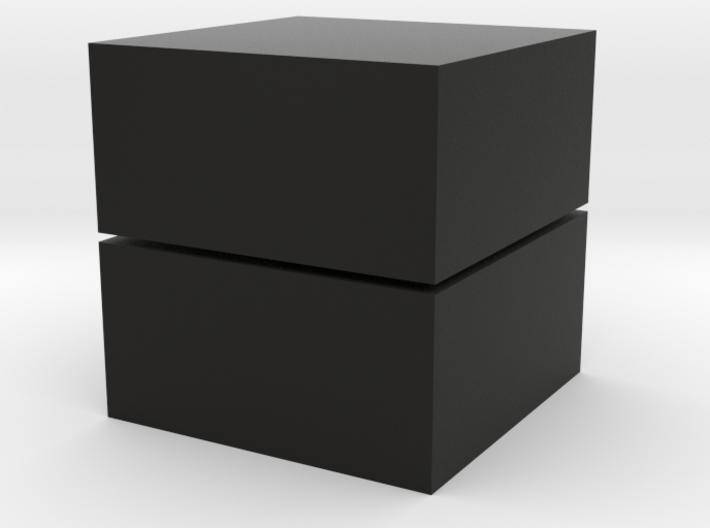 Cubic 1x1x2 3cm 3d printed