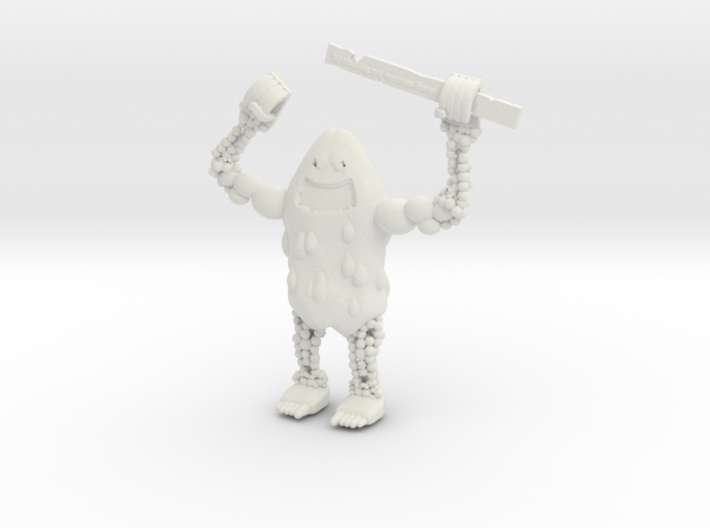 Fruit Monster 3d printed