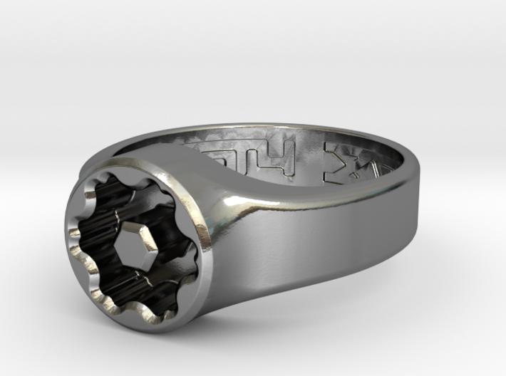 US14 Ring XVIII: Tritium 3d printed