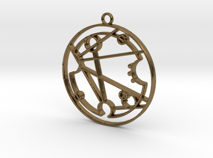 Florence / Florense - Necklace 3d printed