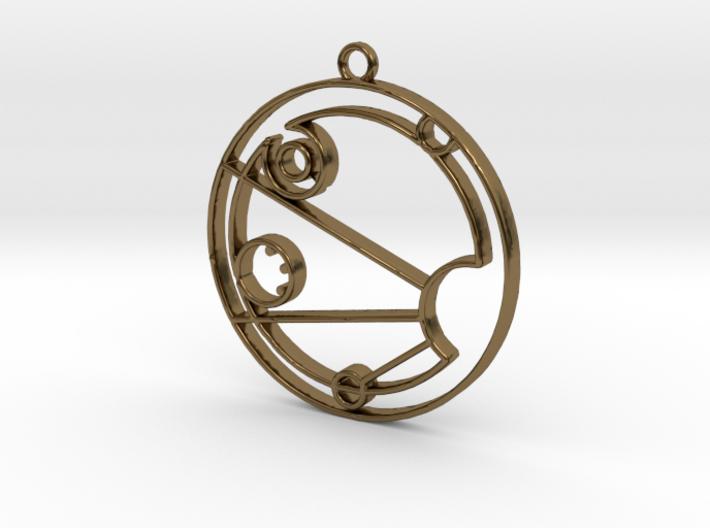 Isabel - Necklace 3d printed