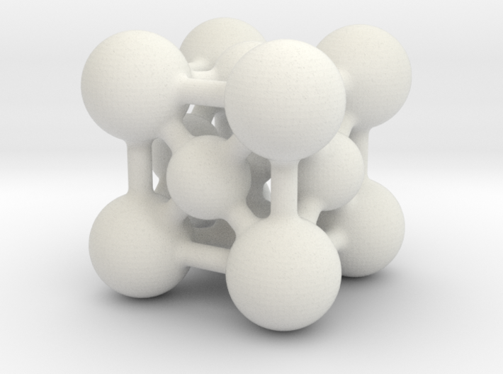 Perovskite (ABO3) Crystal Structure (2cm) 3d printed