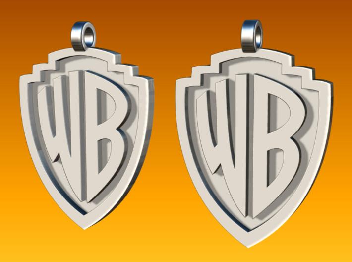 warner brothers earrings 3d printed