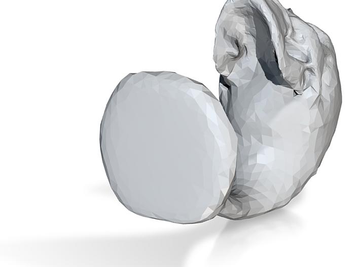skull statue 3d printed