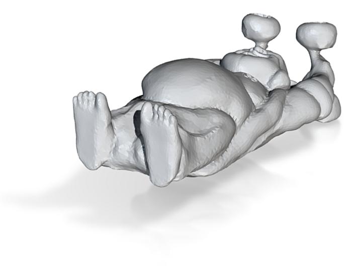 Fitness Buddha 3d printed
