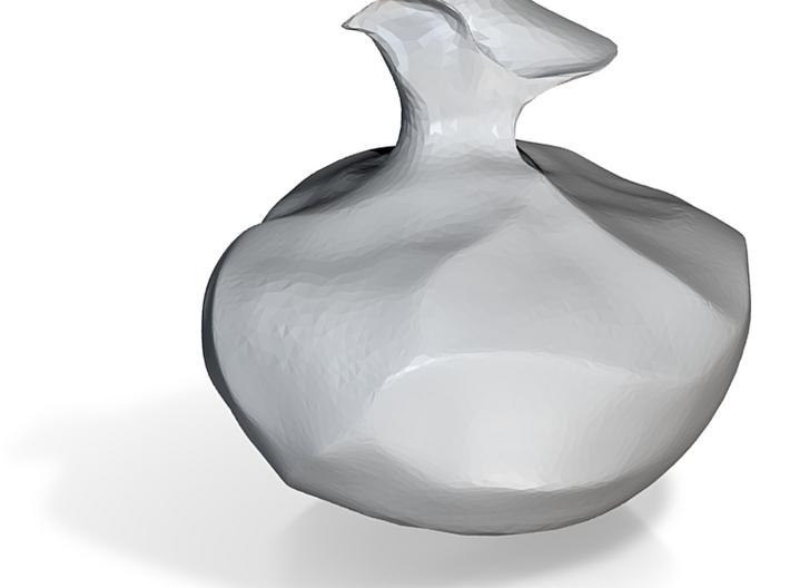 waterlily bottle 3d printed
