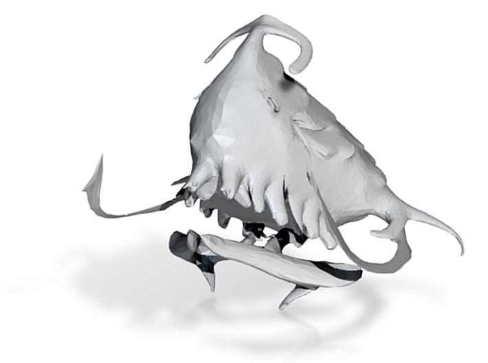 Concept sculpture 3d printed