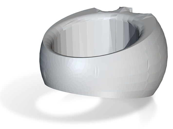 coloroed ring 3d printed