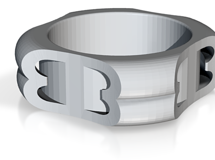 Beki's Ring Style 2 3d printed