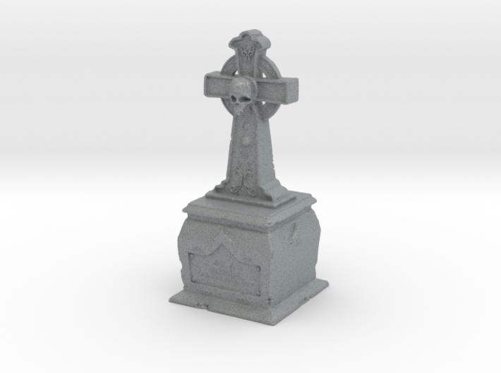 Skull Tombstone 3d printed