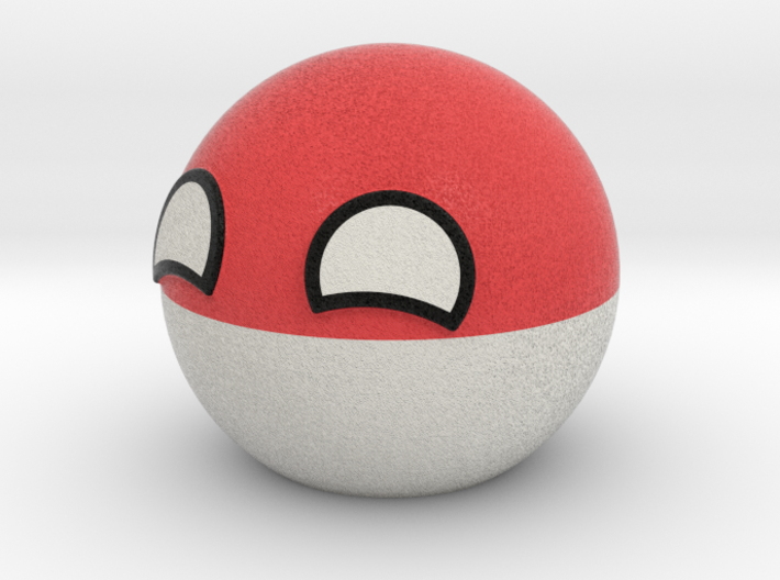 Polandball 3d printed