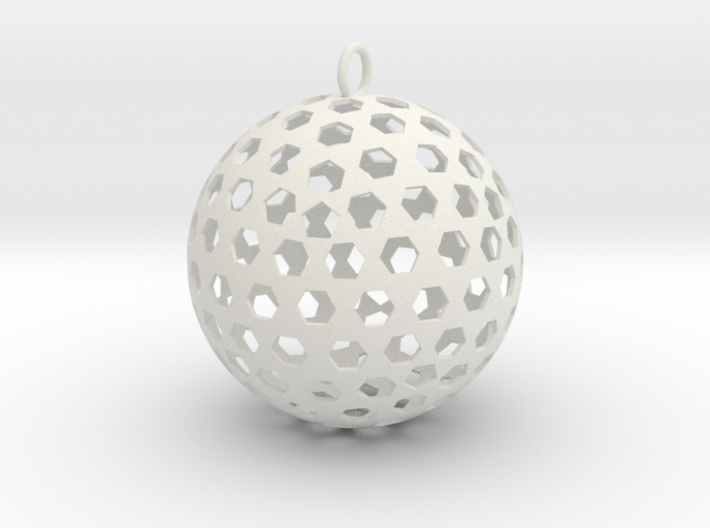 Christmas Bauble 8 3d printed