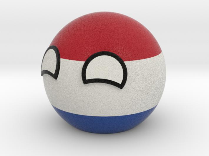 Netherlandsball 3d printed
