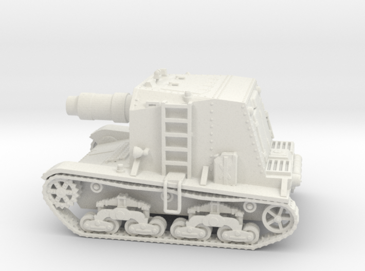 28mm M133 Self-propelled Siege Mortar (Wk6 based) 3d printed
