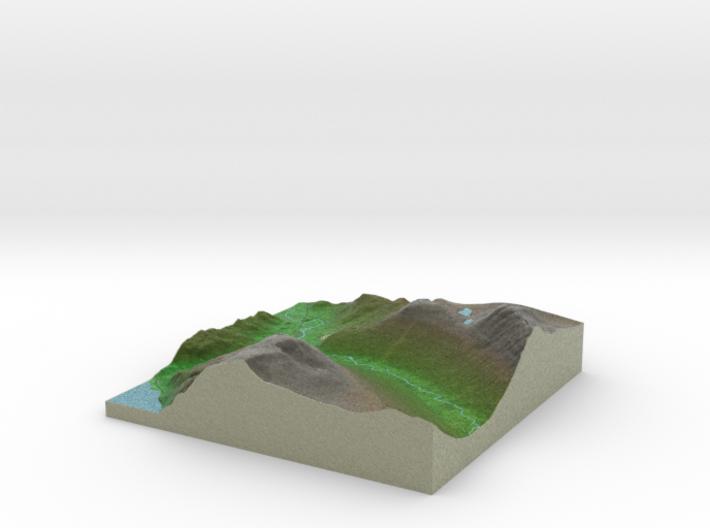 Terrafab generated model Mon Oct 06 2014 10:11:32 3d printed