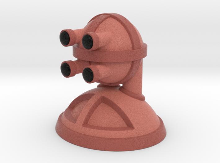 'Robust' robot bust design, model M7-002 3d printed