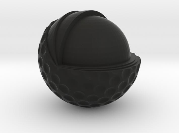 Golf Ball Cutted 3d printed