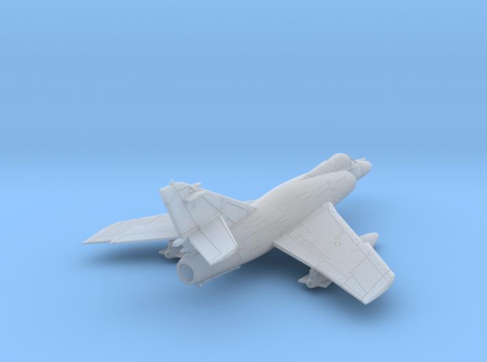 021C Super Etendard 1/144 in Flight with Tanks 3d printed