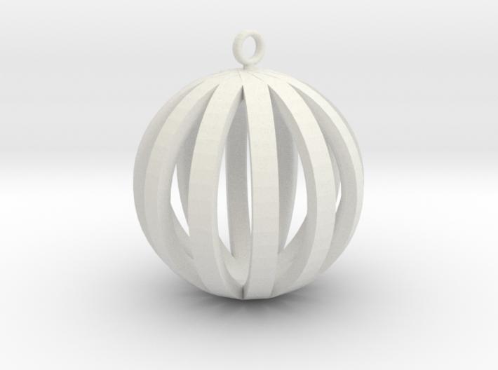 Round Pendant 3d printed