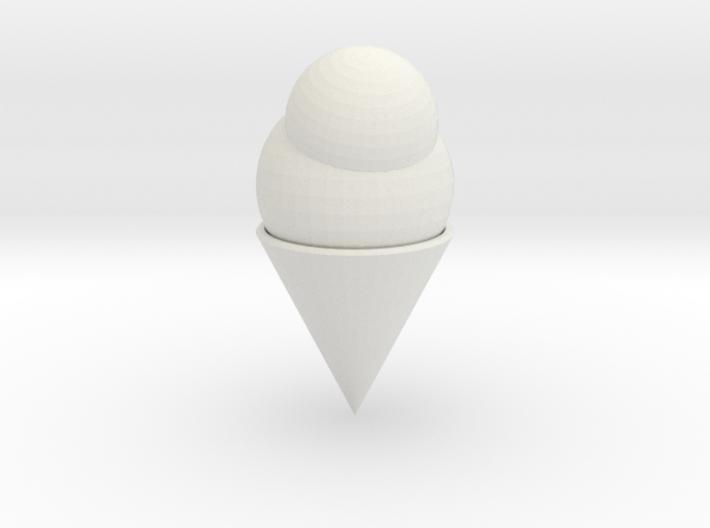 Ice Cream Cone 3d printed