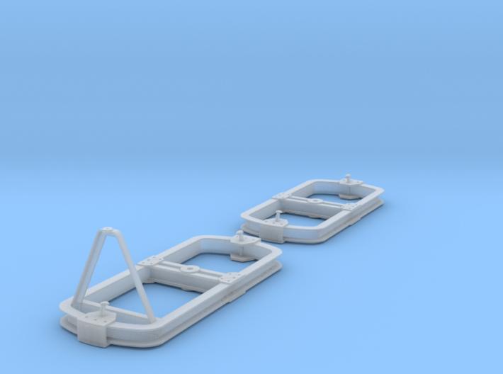 GN15 DIN Unterwagen auf Lorengestellen 3d printed