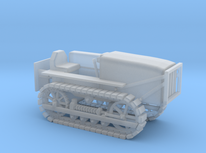Caterpillar D4 - Nscale 3d printed