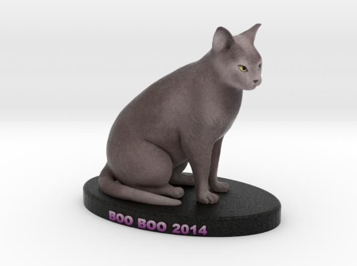Custom Cat Figurine - Booboo 3d printed