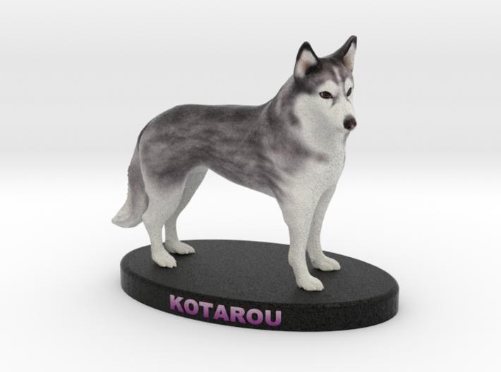 Custom Dog Figurine - Kotarou 3d printed