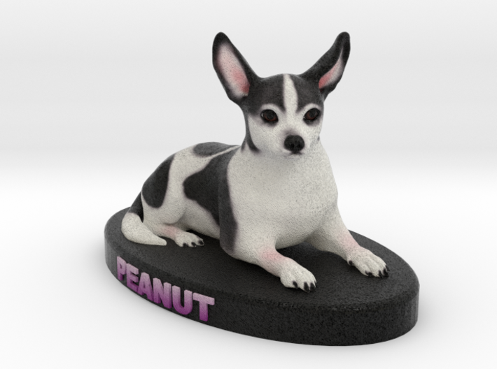 Custom Dog Figurine - Peanut 3d printed