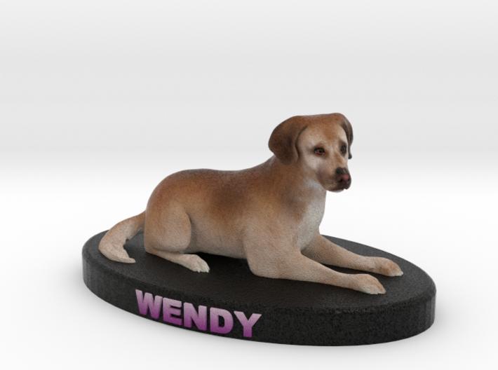 Custom Dog Figurine - Wendy 3d printed
