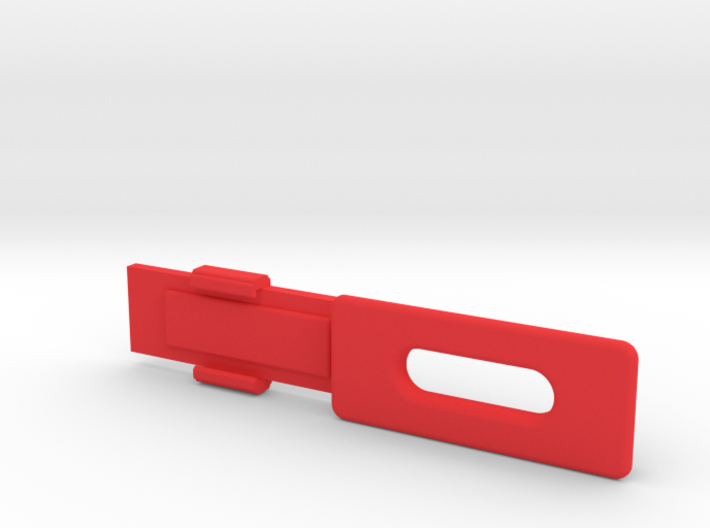Screen Cradle with Screen Clip 3d printed