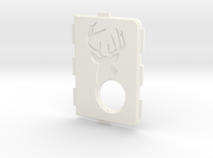MarkV Cover - Deer 3d printed