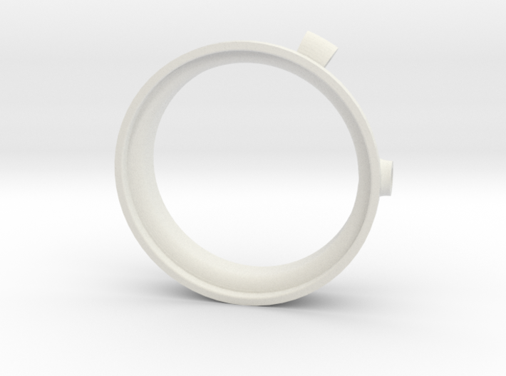 AEE SD23 adapter chamber diving for filter 58 mm 3d printed