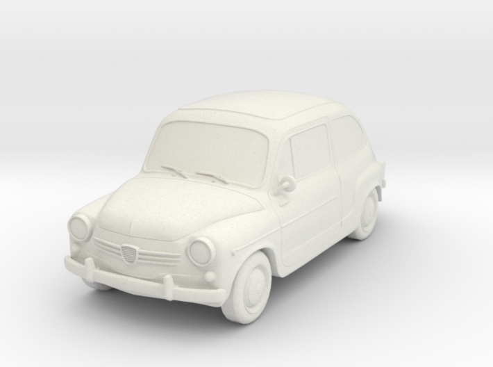 Fiat 600 3d printed