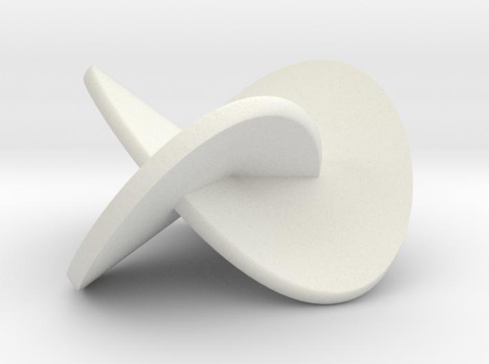 Trefoil-bandfull3 3d printed