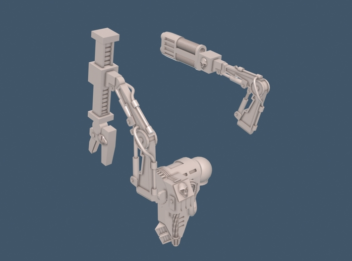 Mechanical Marine Accessories-28mm 3d printed