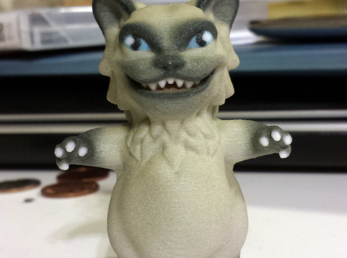 Bad Kitty 3d printed