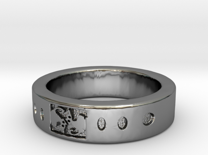AnelloCAT RING 3d printed
