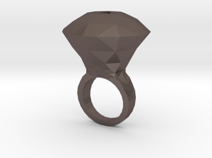 Ruby Ring 3d printed