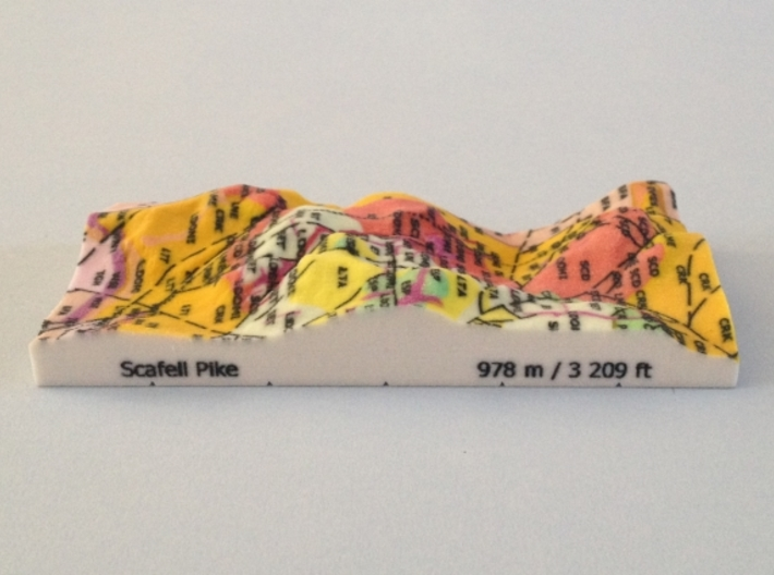 Scafell Pike - Strata 3d printed Photo of Scafell Pike - Strata model