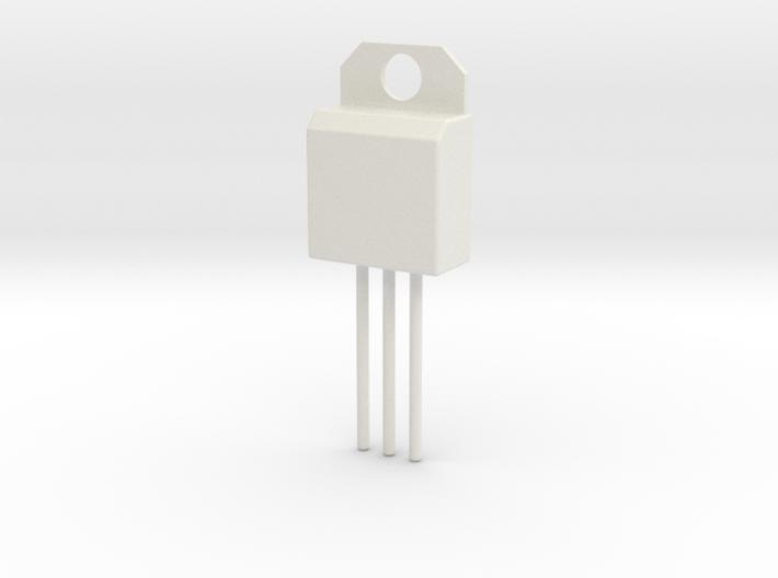 Voltage Regulator Pendant 3d printed