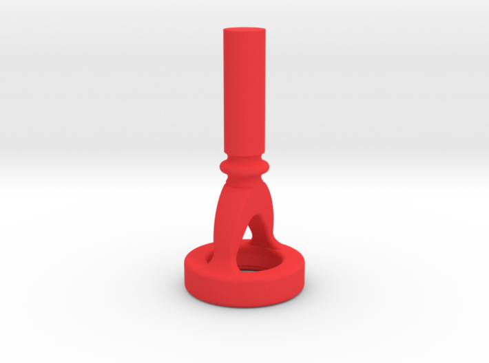 Euphonium Cut-Away Mouthpiece Embouchure Trainer 3d printed Euphonium Cut-Away