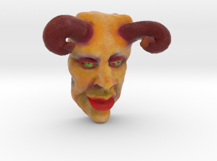 THE DEVIL (3 Inches tall) 3d printed
