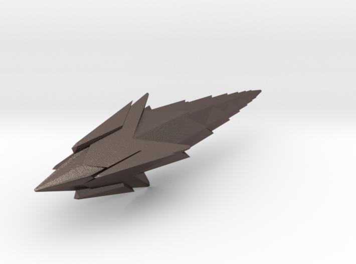 Thornship (repaired) 3d printed