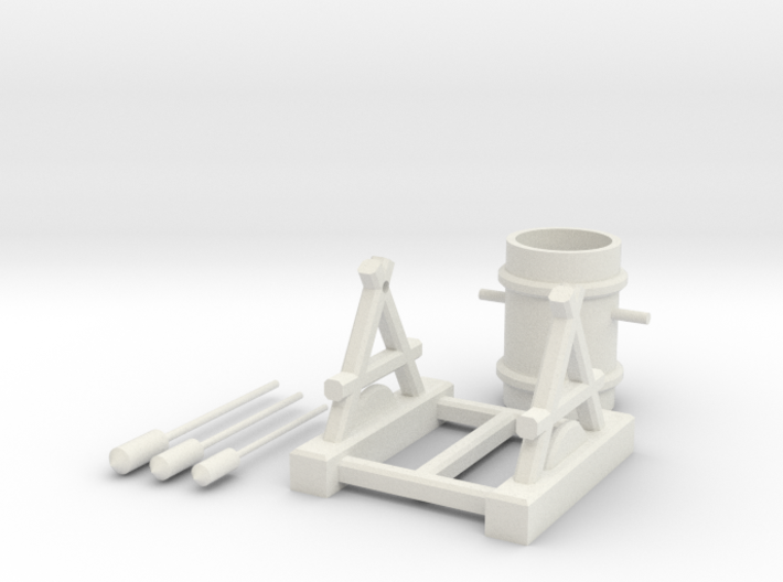 Clash of Clans Air Defense 3d printed