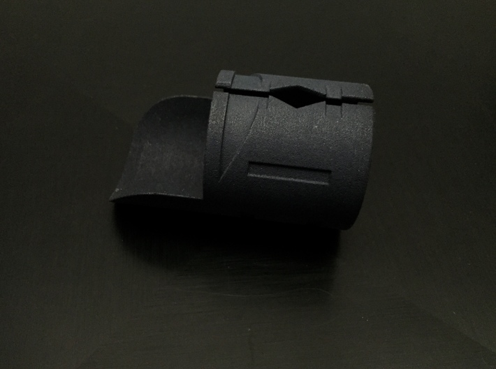 Emitter Shroud - Phasm 3d printed Black Strong and Flexible