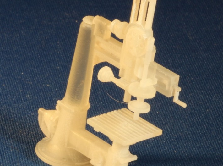 Radial Drill Press S Scale 3d printed Add a caption...