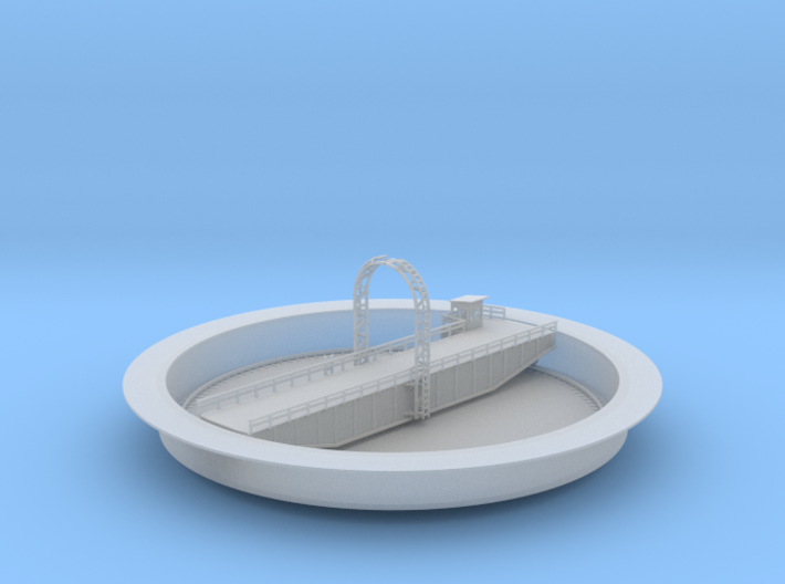 Railroad 100ft Train Turntable 3d printed